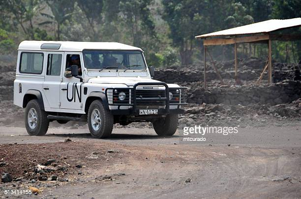 peace keepers in goma, democratic republic of congo - north kivu stock pictures, royalty-free photos & images