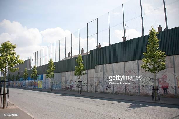 Peace Lines, Belfast Wall