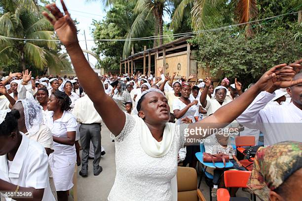 peace march in cap haitian, haiti - peace demonstration stock photos and pictures