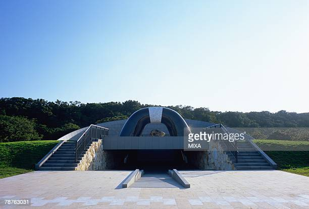 Peace memorial park in Okinawa Prefecture, Japan