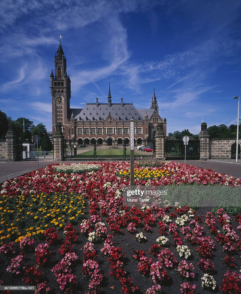 Peace Palace, International Court of Justice : Foto stock