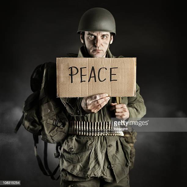peace - peace demonstration stock photos and pictures