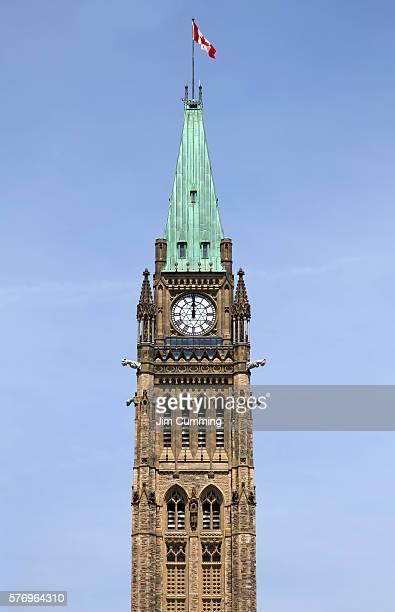 Peace Tower, 12:00 noon, Ottawa, Canada