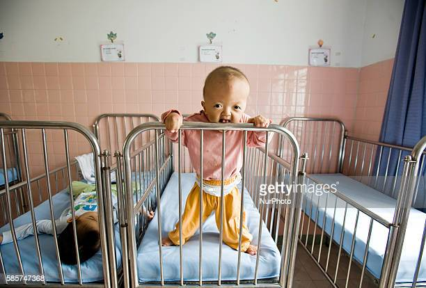 Peace Village ward at Tu Du Hospital in Ho Chi Minh City Vietnam is home for children with disabilities believed to be caused by Agent Orange the...