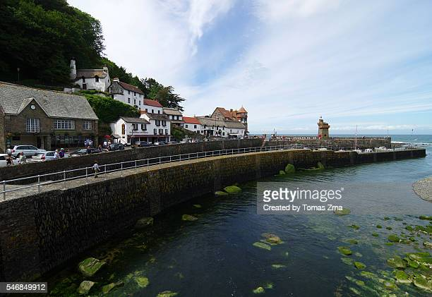Peaceful afternoon in Lynmouth harbour