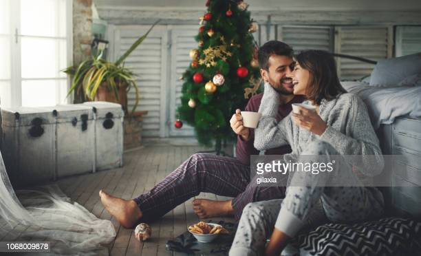 peaceful christmas morning. - religious christmas stock photos and pictures