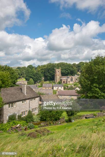 Peaceful English village in the Peak District, Derbyshire
