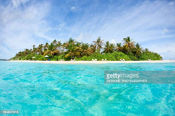 Friedliche Insel