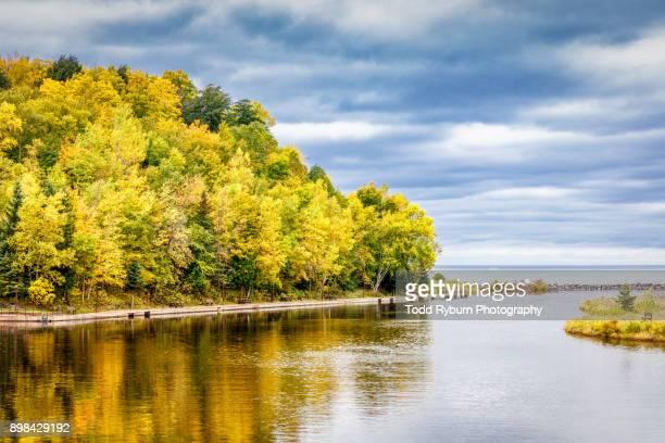 peaceful lake - lake michigan stock pictures, royalty-free photos & images