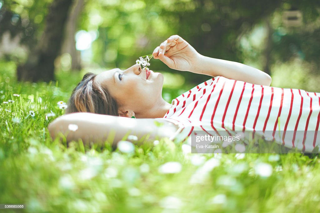 Peaceful moment : Stock Photo