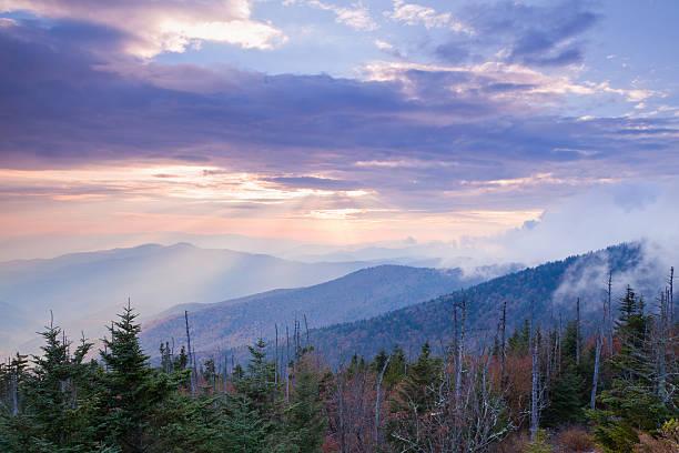 Peaceful Mountain Sunset Wall Art
