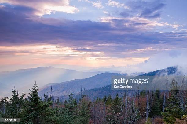 Peaceful Mountain Sunset