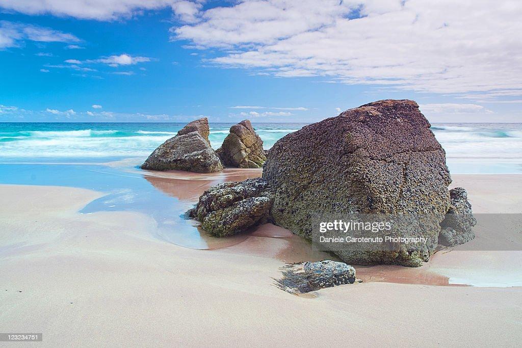 Peaceful rocks : Stock Photo