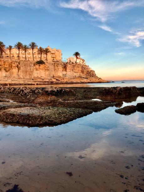 A peaceful view at Praia da Azarujinha in Estoril