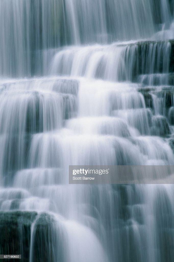 Peaceful waterfall : Stock Photo