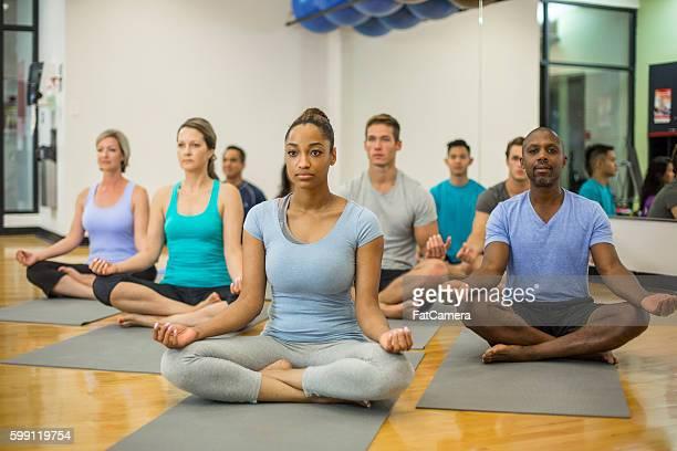 Peaceful Yoga Mediation