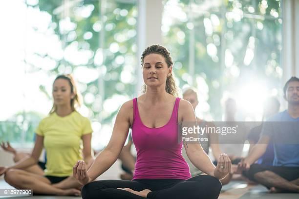 Peacefully Meditating