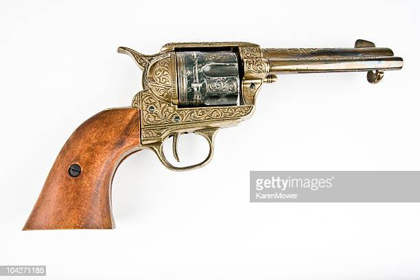 peacemaker - handgun stock pictures, royalty-free photos & images