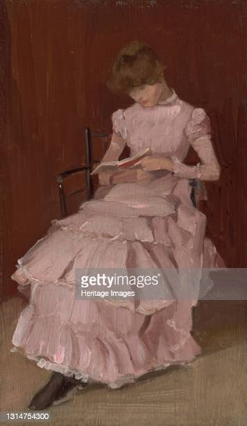 Peach Blossom, c. 1890-1894. Artist Beatrix Godwin Whistler.