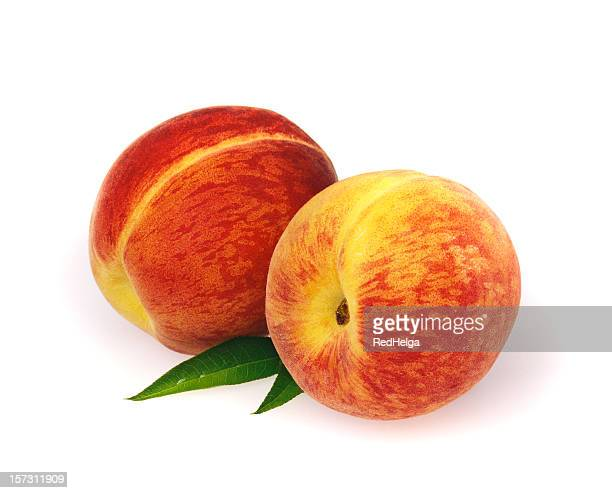 Peach duo with Leafs