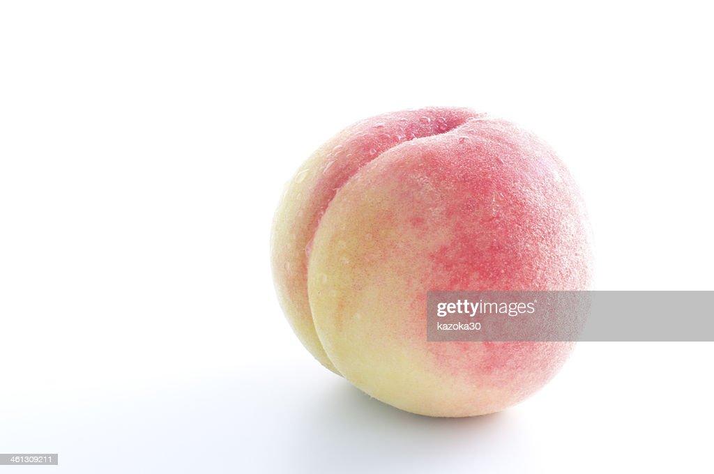 Peach : Stock Photo