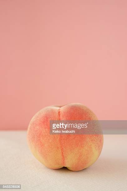 peach - peach stock photos and pictures