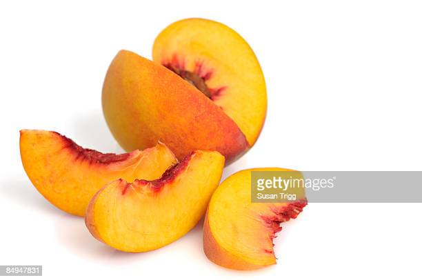Peach slices