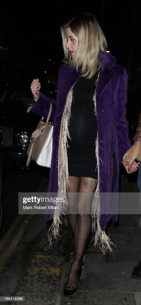 Peaches Geldof at JuJu restaurant on March 30, 2013 in London, England.