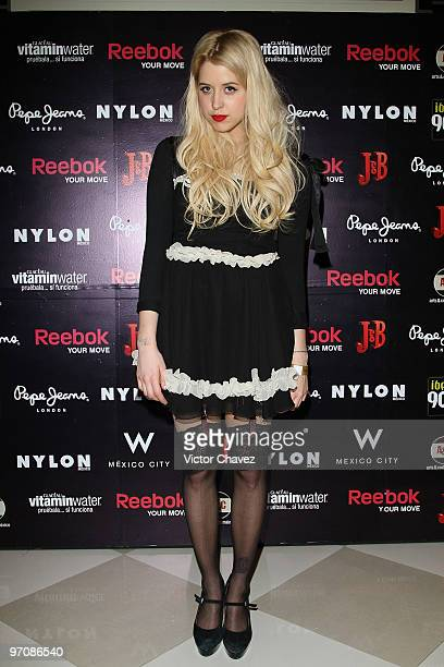 Peaches Geldof attends Nylon Mexico Magazine Anniversary celebration at Amapola Cabaret Ballroom on February 25 2010 in Mexico City Mexico