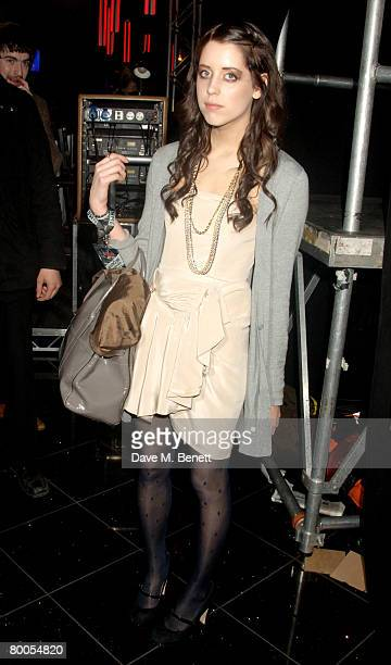 Peaches Geldof attends the afterparty for the Shockwaves NME Awards 2008 at Indig O2 on February 28 2008 in London England