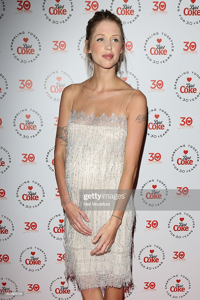 Peaches Geldof attends the Diet Coke Private Party at Sketch on January 30, 2013 in London, England.