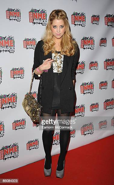 Peaches Geldof attends the Shockwaves NME Awards at O2 Academy Brixton on February 25 2009 in London England