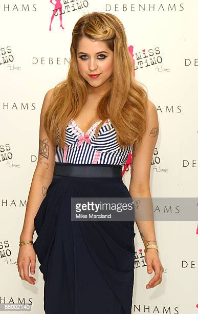 4d026b12cf Peaches Geldof launches  Miss Ultimo  at Debenhams on May 27 2009 in London  England