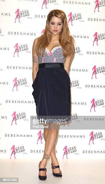 0e2e717e71 Peaches Geldof launches Miss Ultimo at Debenhams on May 27 2009 in London  England