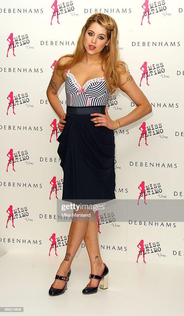 fa92ba07b3 Peaches Geldof Launches Miss Ultimo At Debenhams   News Photo