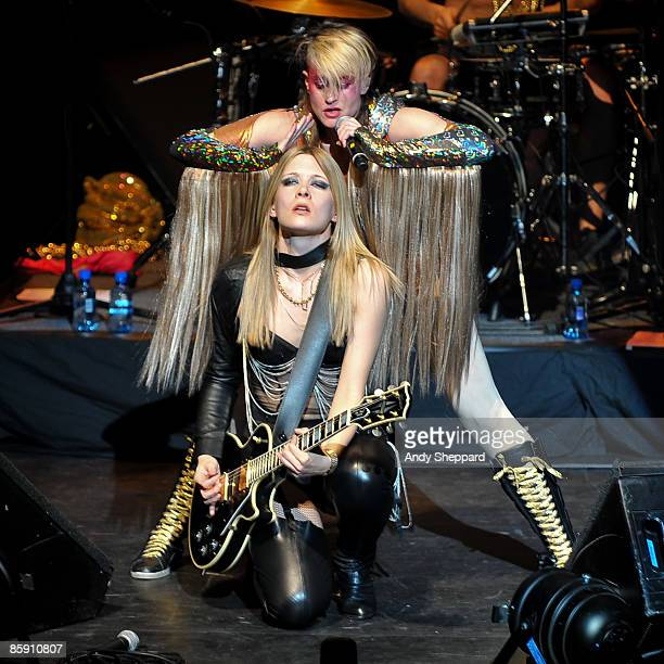 Peaches performs on stage at Royal Festival Hall on April 10 2009 in London England
