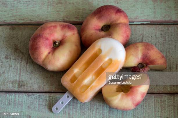 peaches - susanne ludwig stock pictures, royalty-free photos & images