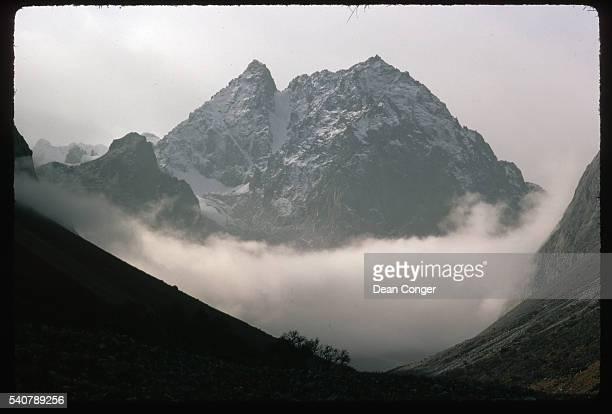 Peak in the Tien Shan Mountains