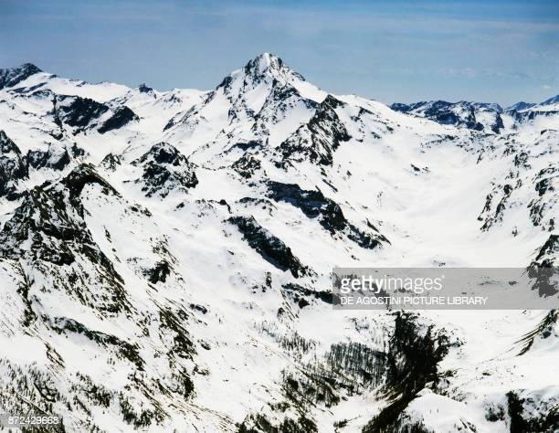 A peak of the Gran Paradiso range Graian Alps Valle d'Aosta Italy