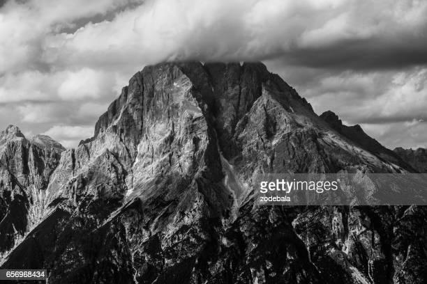 Peaks in the Dolomites, Italy