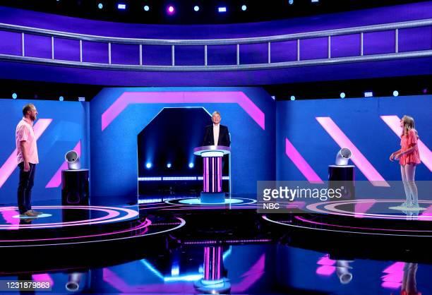 """Peaky Blindfolds"""" Episode 419 -- Pictured: Cody Hagler, Ellen DeGeneres, Melissa Hagler --"""