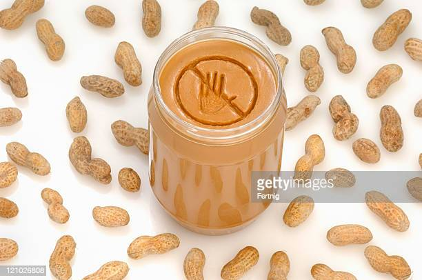 peanut allergy - nut food stock pictures, royalty-free photos & images