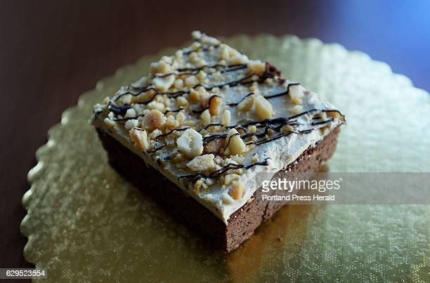 Peanut butter brownie at Foley's Bakery in Portland Friday December 2 2016