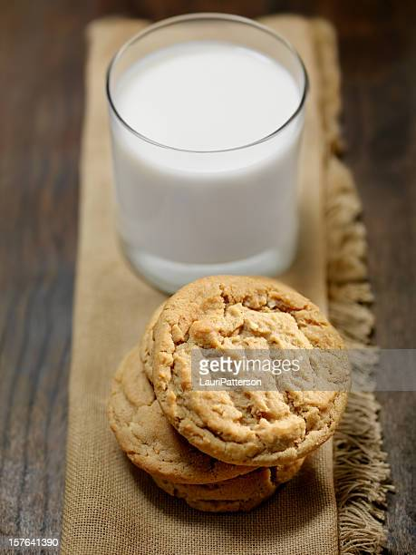 Peanut Butter Cookies and Milk