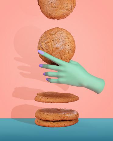 Peanut Butter Cookies - gettyimageskorea