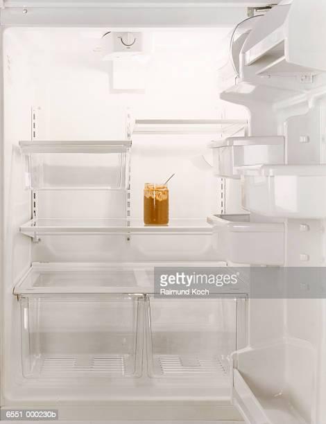 Peanut Butter in Refrigerator