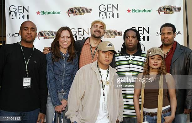 Peanut Butter Wolf Liza Richardson Garth Trinidad DJ PTrix Mr Choc DJ Rosslyn and George Cabrera