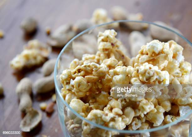 Peanut Buttered Popcorn recipe clipped from the Lawrence Eagle Tribune by Charlene Flaherty of Hampstead NJ 35 years ago and she still makes it to...