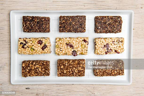 Peanut Snack Bars Chewy Cranberry Millet and Pistachio Bars and Banana Breakfast Bars