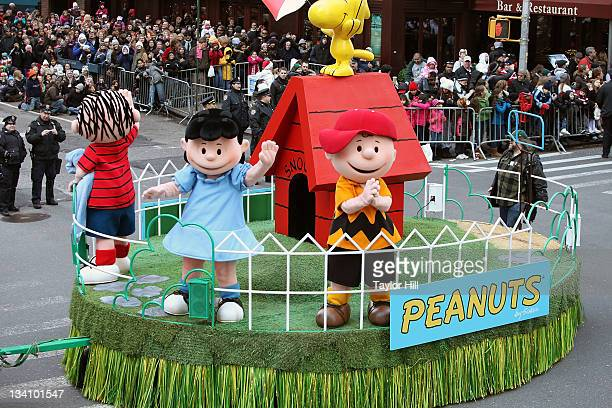 Peanuts at the 85th annual Macy's Thanksgiving Day Parade on November 24, 2011 in New York City.
